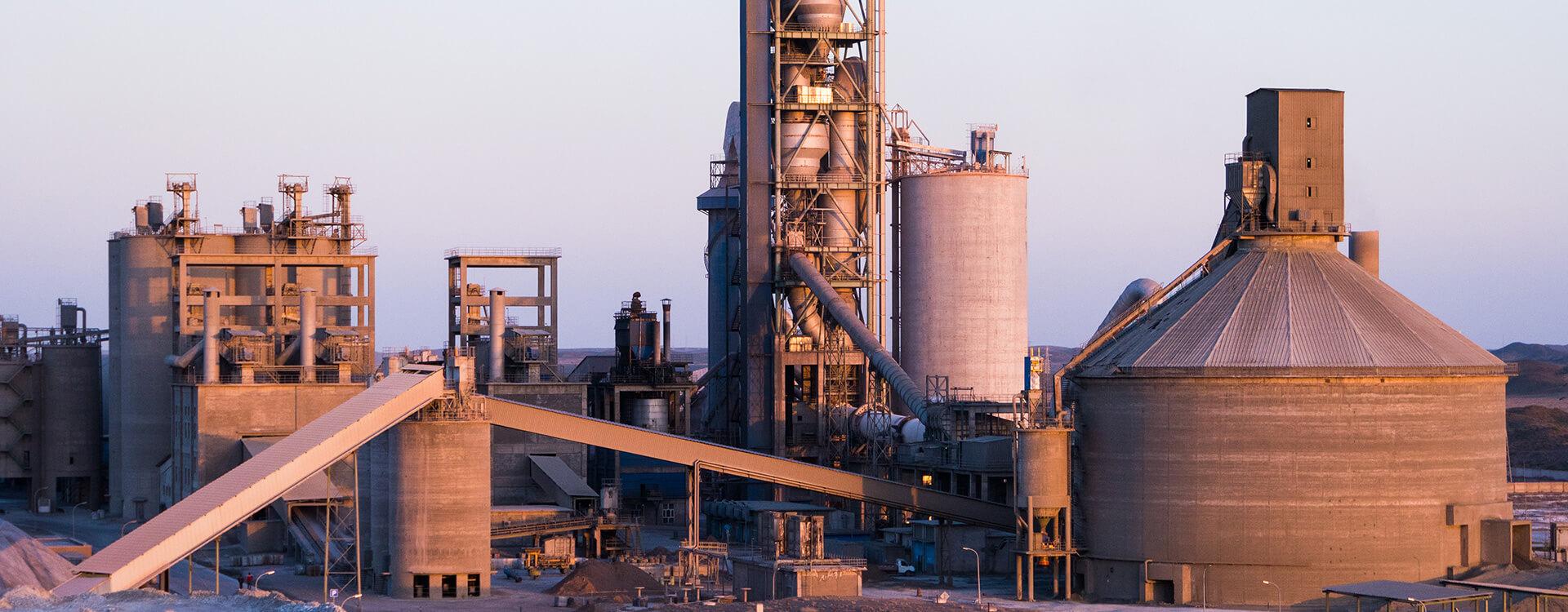 cimento fabrikasi urun satis mor endustri