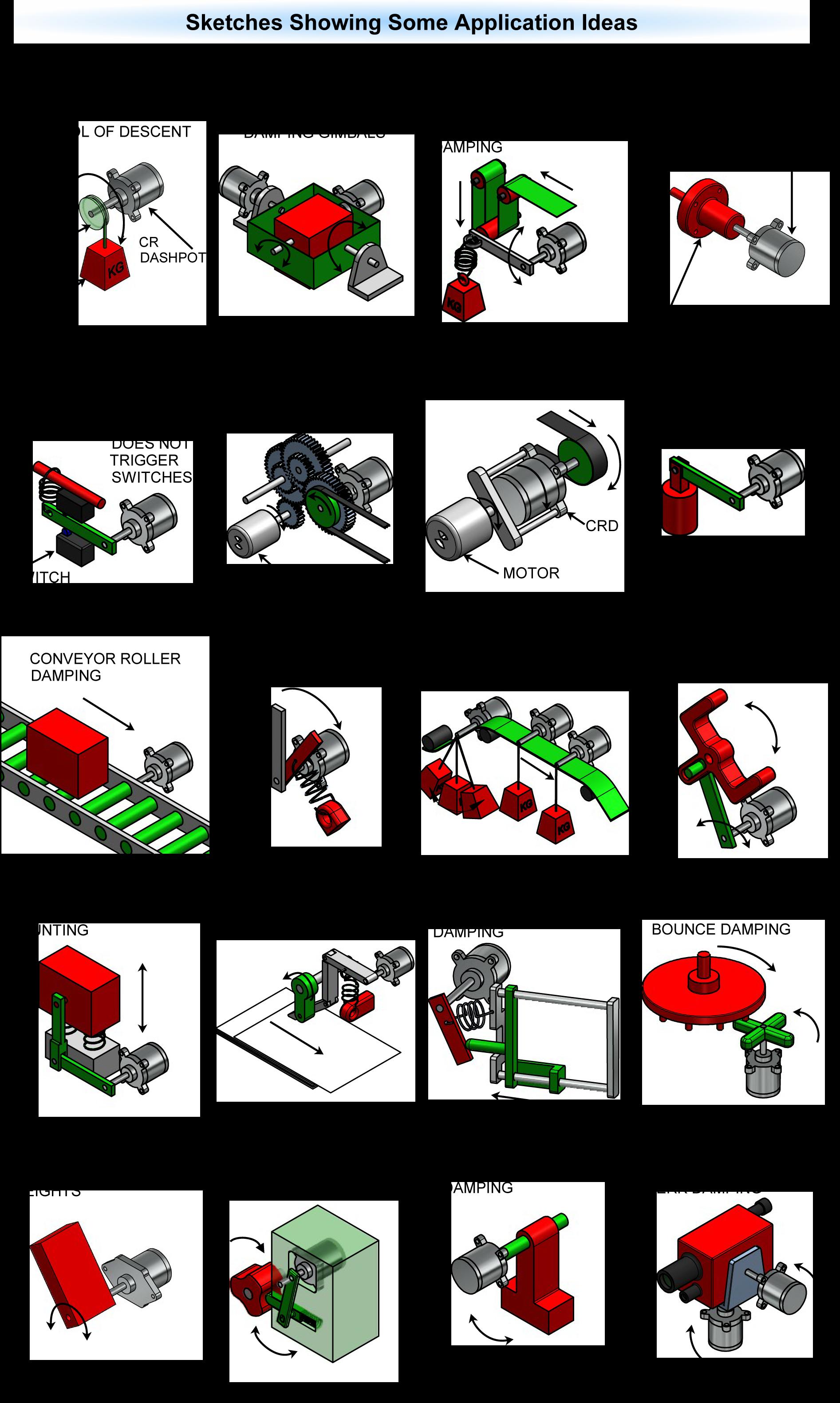Dashpot Catalogue P06 Applications